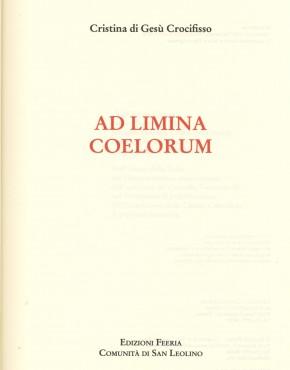 Ad Limina Coelorum - copertina 2