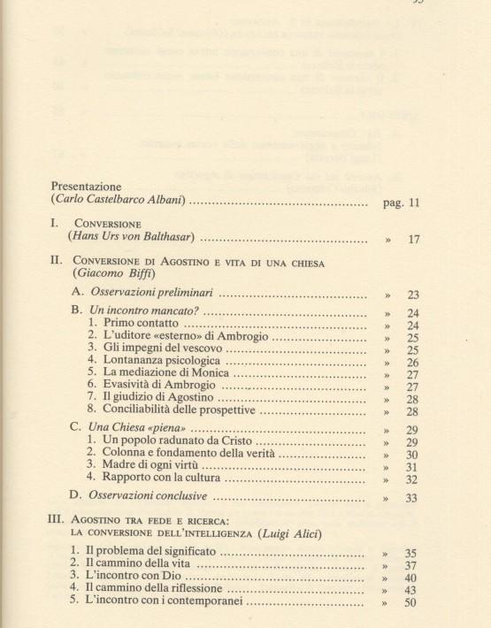 Agostino e la conversione cristiana - 001