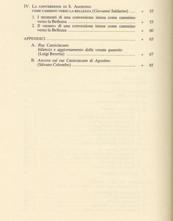 Agostino e la conversione cristiana - 002