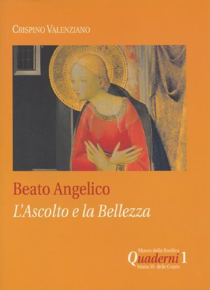Beato Angelico l'ascoto e la bellezza - copertina