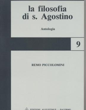 Filosofia di S. Agostino - copertina