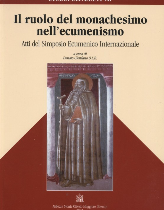 Il ruolo del monachesimo - copertina