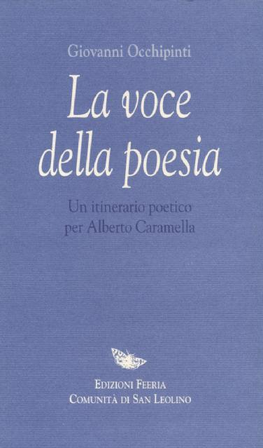 La voce della poesia - copertina