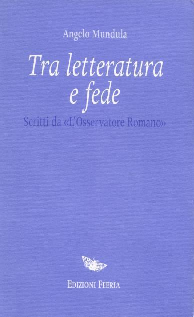 Tra letteratura e fede - copertina